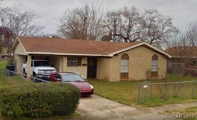 Bossier City Single Family Home For Sale: 1313 S Gibson Circle