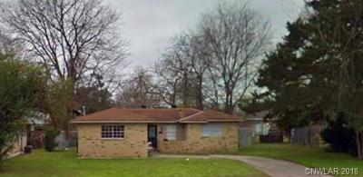 Bossier City Single Family Home For Sale: 1303 S Gibson Circle
