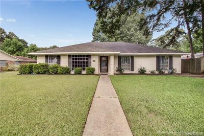 Shreveport Single Family Home For Sale: 9810 Hillsboro Drive