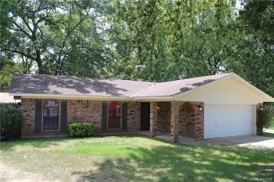 Shreveport Single Family Home For Sale: 9101 Rosedown Circle