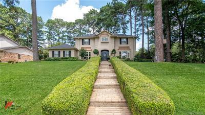 Shreveport Single Family Home For Sale: 527 Loch Ridge Drive