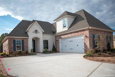 Bossier City Single Family Home For Sale: 627 Glenshire Drive