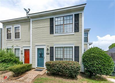 Shreveport Condo/Townhouse For Sale: 278 Settlers Park Drive