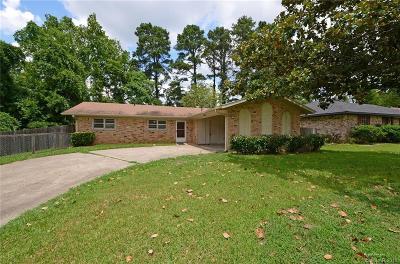 Haughton Single Family Home For Sale: 114 Espanita Boulevard
