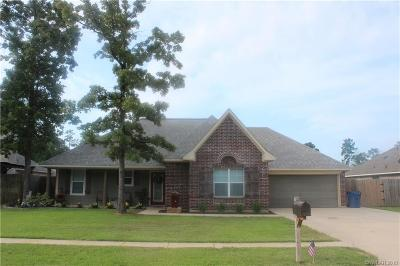 Haughton Single Family Home For Sale: 504 Amberwood Drive