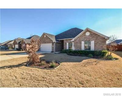 Bossier City Single Family Home For Sale: 2332 Tallgrass