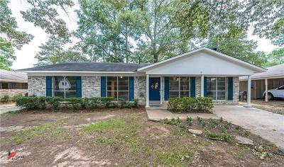 Shreveport LA Single Family Home For Sale: $170,000