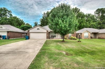 Haughton Single Family Home For Sale: 412 Red Oak Lane