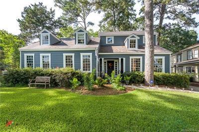 Shreveport Single Family Home For Sale: 724 Dudley Drive