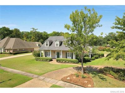 Bossier City Single Family Home For Sale: 5751 Lake Side Drive