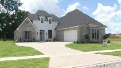 Bossier City LA Single Family Home For Sale: $394,800