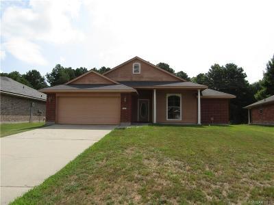 Shreveport LA Single Family Home For Sale: $149,000