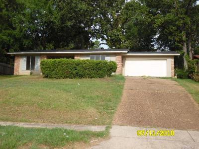Shreveport Single Family Home For Sale: 9146 Kingston Road