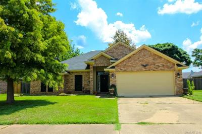 Bossier City Single Family Home For Sale: 4903 General Ashley Drive