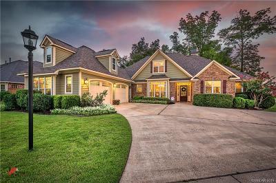 Shreveport Single Family Home For Sale: 612 Parlange Circle