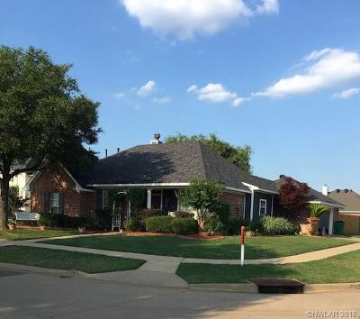 Bossier City Single Family Home For Sale: 5100 Tensas Drive