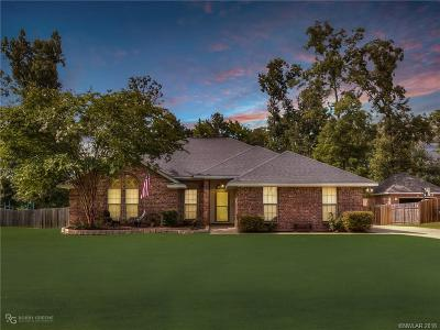 Haughton Single Family Home For Sale: 1987 Highpoint Place