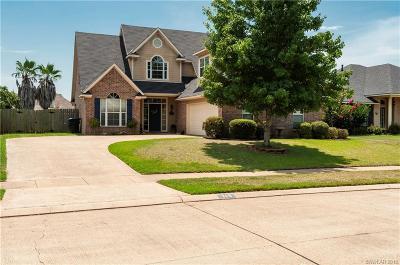 Bossier City Single Family Home For Sale: 345 Fletcher Drive