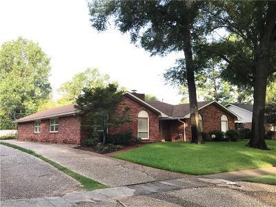 Shreveport LA Single Family Home For Sale: $242,000