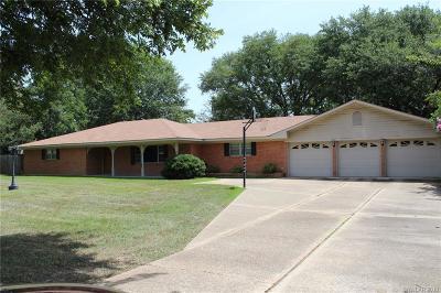 Shreveport Single Family Home For Sale: 7809 Broadacres Road