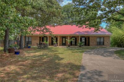 Haughton Single Family Home For Sale: 2595 Mayflower Road