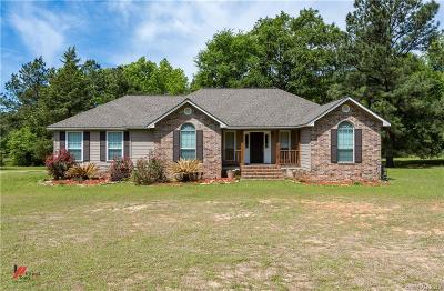 Keithville Single Family Home For Sale: 8455 Adams Road