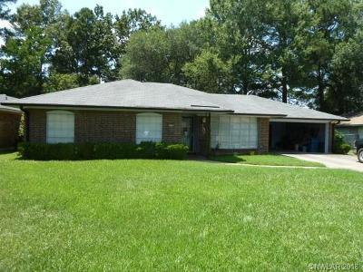 Shreveport Single Family Home For Sale: 1003 Woodshire Circle