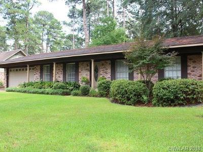 Shreveport Single Family Home For Sale: 1017 Ridgewood Drive