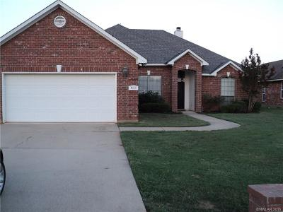 Benton Single Family Home For Sale: 4111 Courtland Way