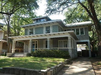 Shreveport LA Single Family Home For Sale: $90,800