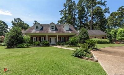 Shreveport Single Family Home For Sale: 10200 Ellerbe Road