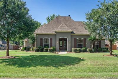Bossier City Single Family Home For Sale: 1028 Fawn Hollow