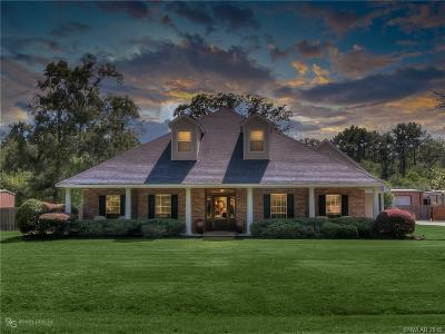 Shreveport Single Family Home For Sale: 9936 Canvasback Drive
