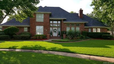 Bossier City Single Family Home For Sale: 18 Dover Circle