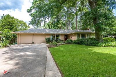 Shreveport Single Family Home For Sale: 630 Oak Hill Drive