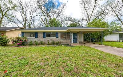 Bossier City LA Single Family Home For Sale: $94,000