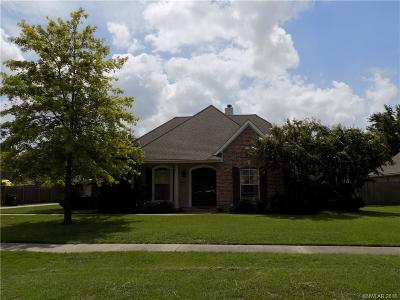 Bossier City Single Family Home Contingent: 1810 Castlewood Drive