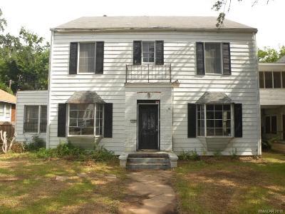 Shreveport Single Family Home For Sale: 130 Lister Street