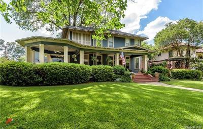 Shreveport Single Family Home For Sale: 4634 Fairfield