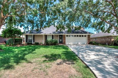 Bossier City LA Single Family Home For Sale: $165,000