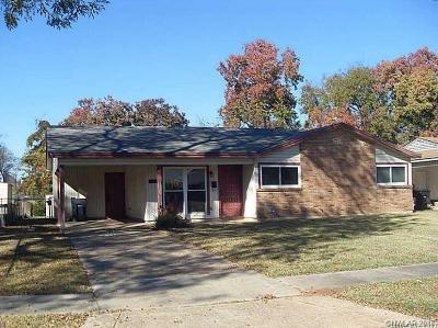 Bossier City Single Family Home For Sale: 3223 Thunderbird Lane