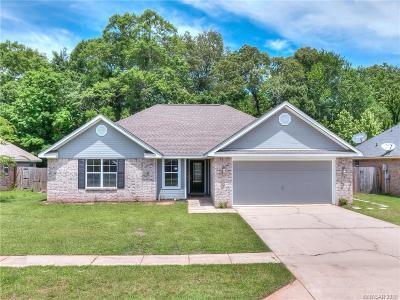 Haughton Single Family Home For Sale: 610 Alex Way