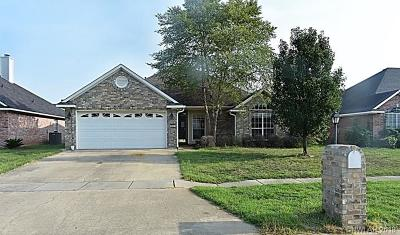 Bossier City Single Family Home For Sale: 6007 Jason Street