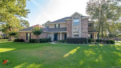 Keithville Single Family Home For Sale: 3830 Fountainbleau Road