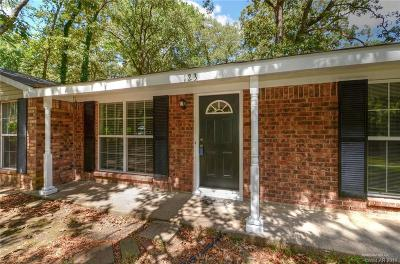 Haughton Single Family Home For Sale: 123 Taylor Bend Street