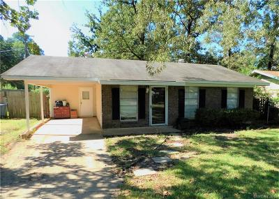 Haughton Single Family Home For Sale: 701 Cindy Lane