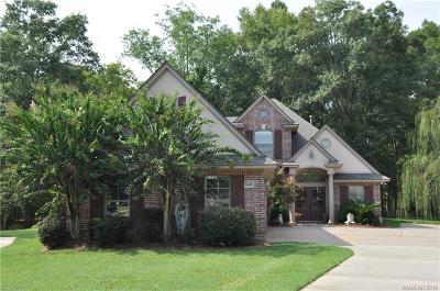 Bossier City Single Family Home For Sale: 4008 Wilderness Lane