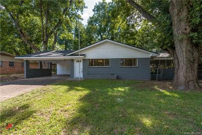 Bossier City LA Single Family Home For Sale: $144,900