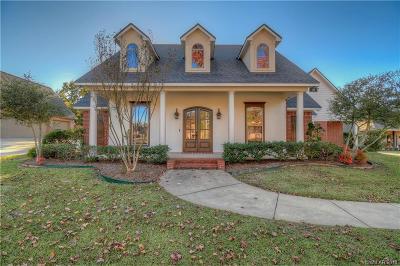 Benton Single Family Home For Sale: 4106 Periwinkle Lane