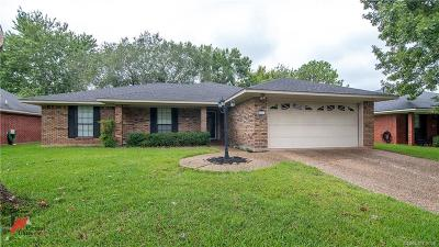 Bossier City Single Family Home Contingent: 6226 W Oxbow